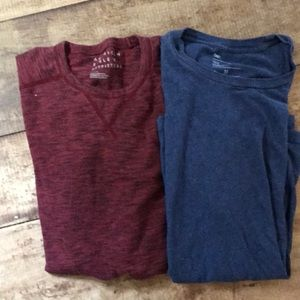 American Eagle and Gap short sleeve shirts